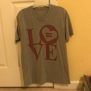 *5 for $29* Love V Neck T-shirt